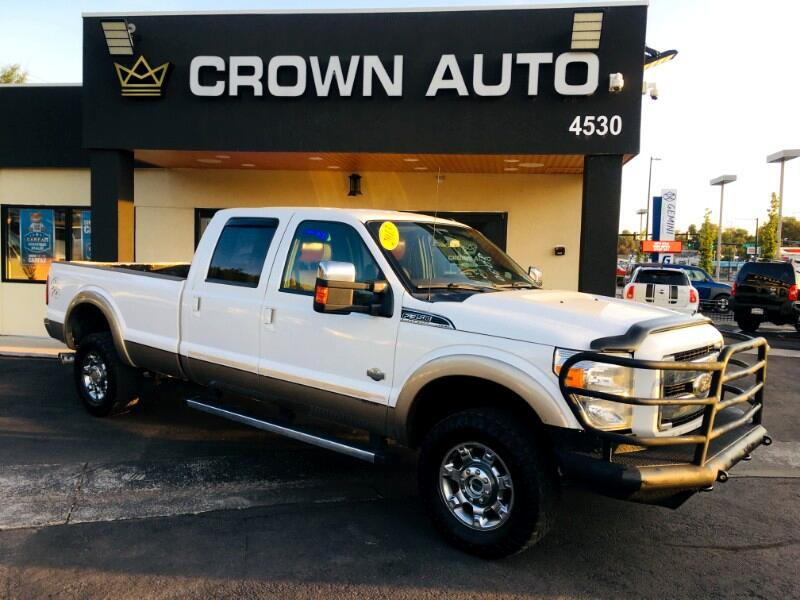 Ford F-350 SD King Ranch Crew Cab Long Bed 4WD 2013