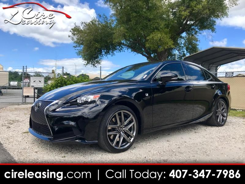 2016 Lexus IS IS 350 F Sport RWD