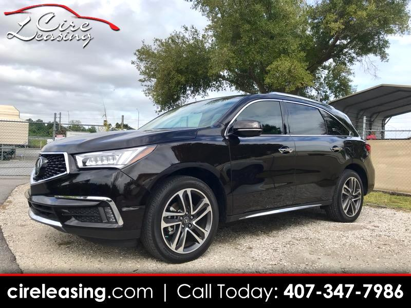 2017 Acura MDX 6-Spd AT w/Advance Package