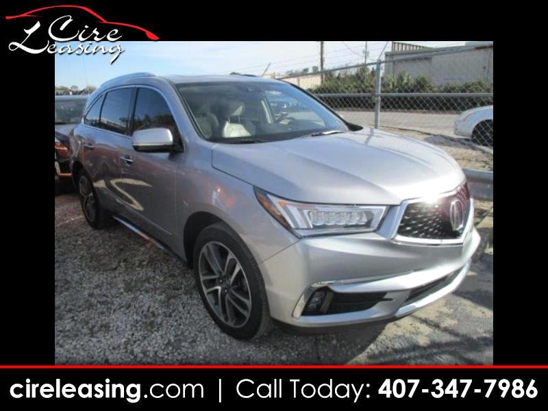 2017 Acura MDX AWD 4dr Advance Pkg