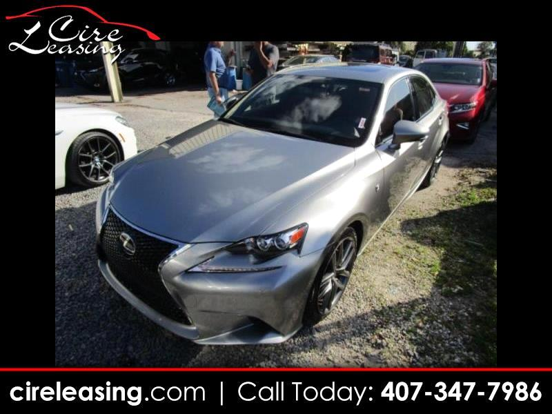 Lexus IS 200t 4dr Sdn 2016
