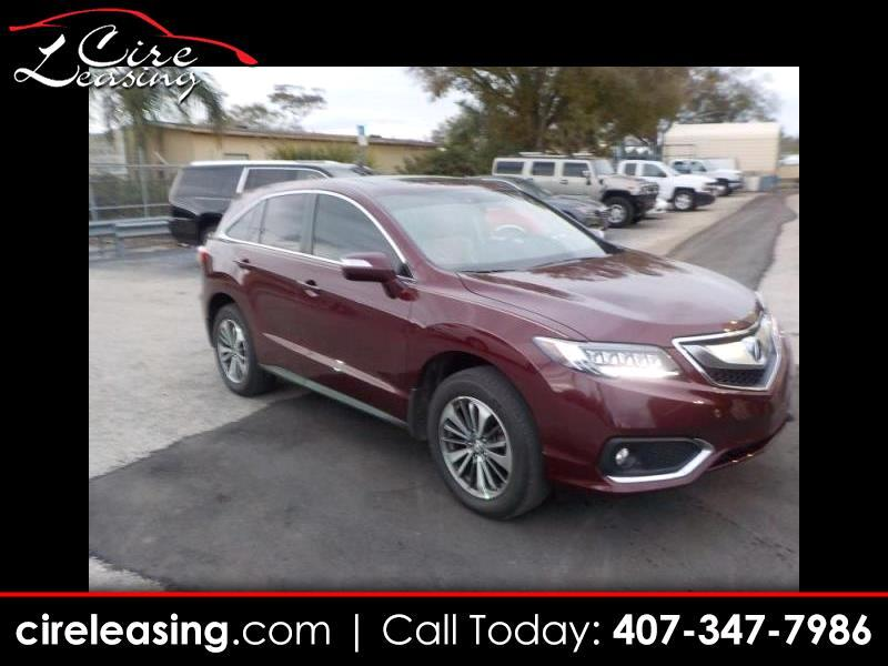 Acura RDX 6-Spd AT AWD w/Advance Package 2018