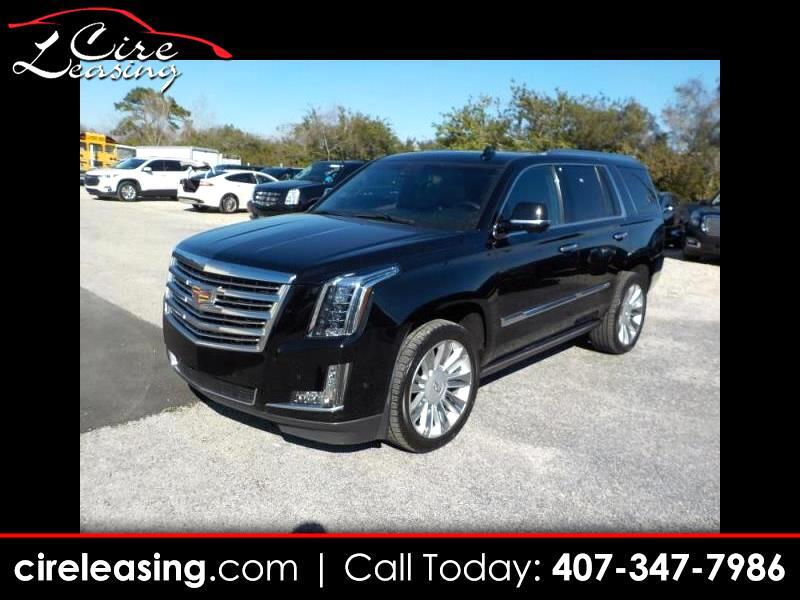 Cadillac Escalade Platinum 2WD 2017
