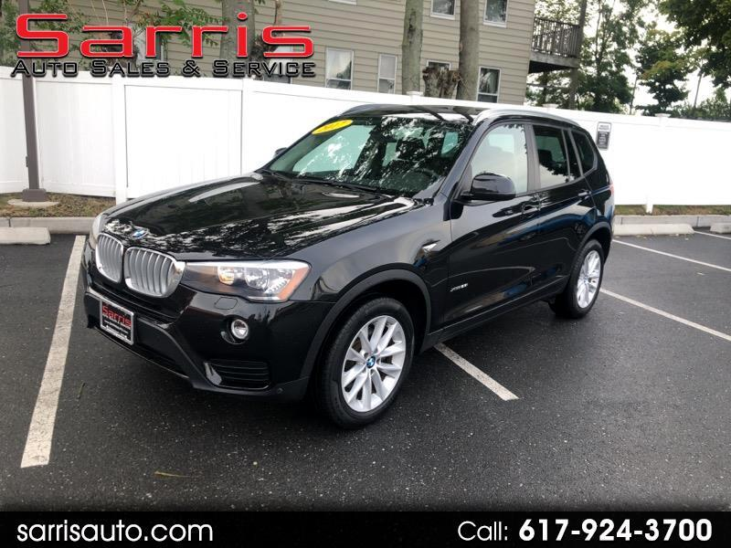 2017 BMW X3 AWD 4dr xDrive28i
