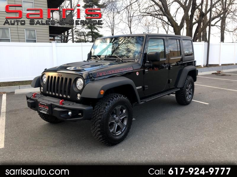 Jeep Wrangler Unlimited Rubicon 4x4 2018