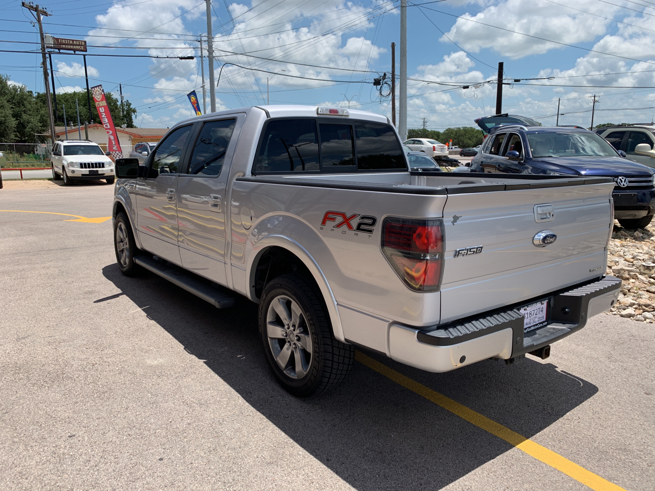 2012 Ford F-150 SuperCrew Crew Cab 139