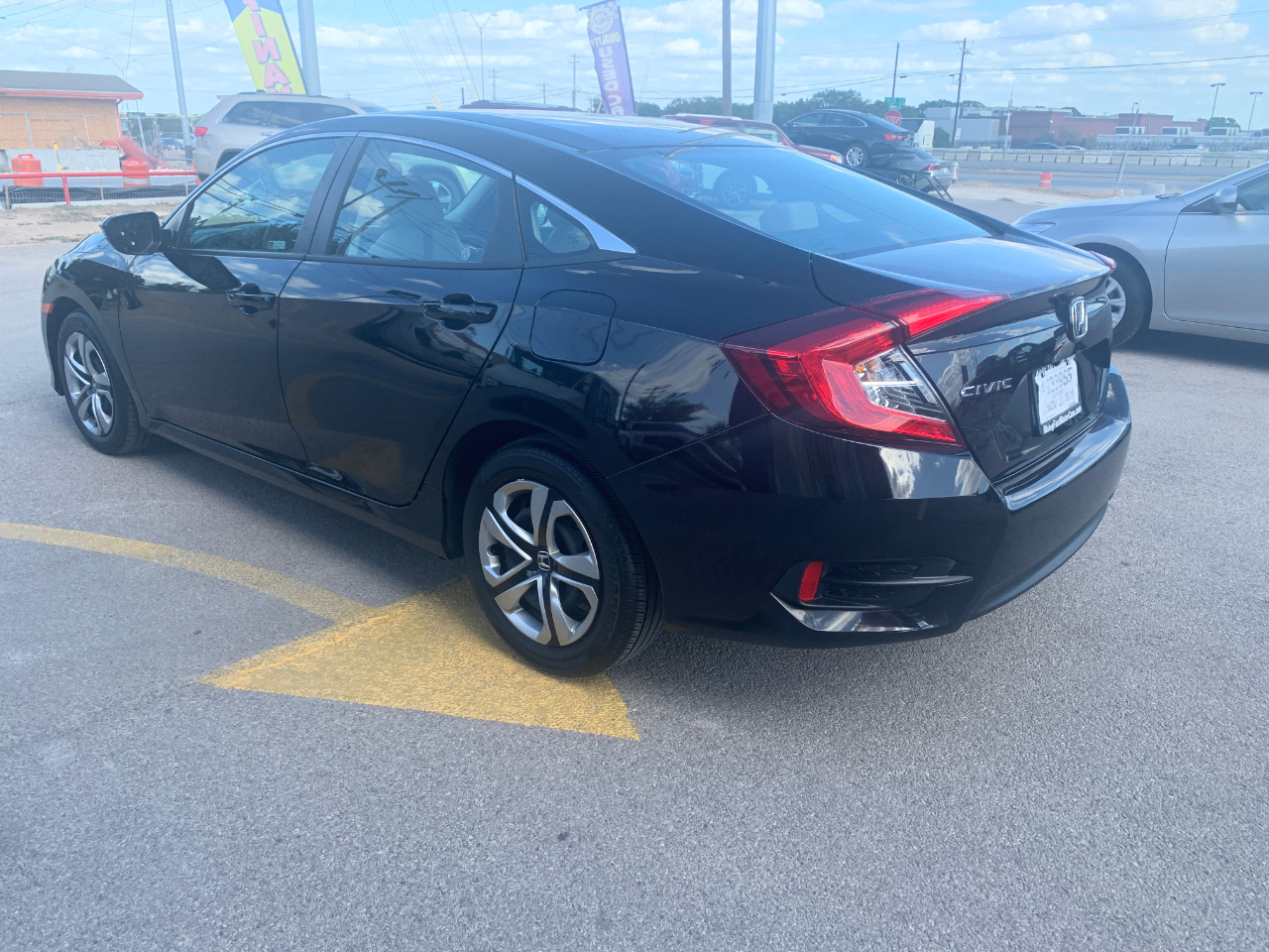 2018 Honda Civic LX Sedan CVT
