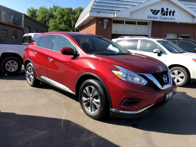 2017 Nissan Murano AWD 4dr SE