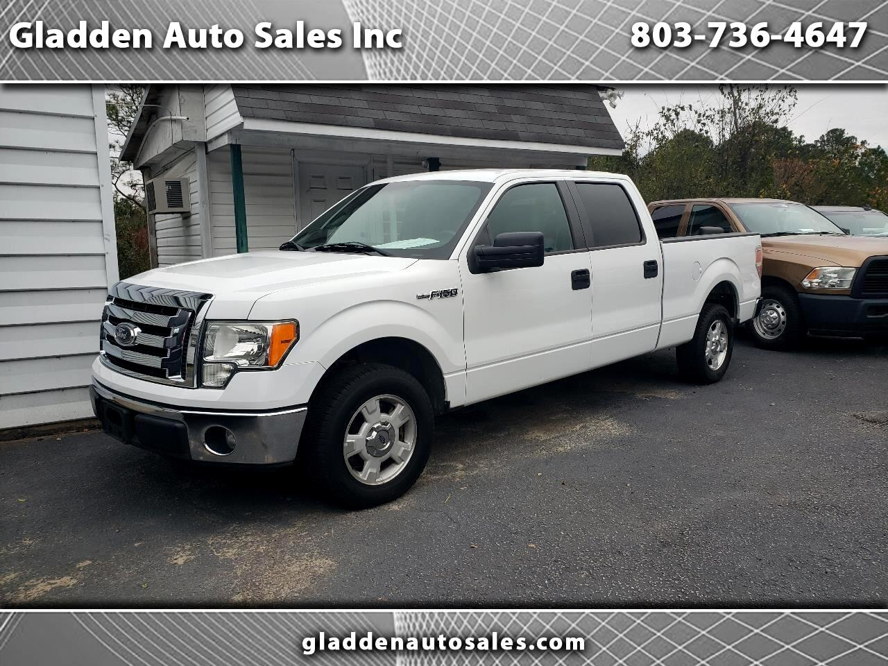 Ford F-150 XL SuperCrew 5.5-ft. Bed 2WD 2012
