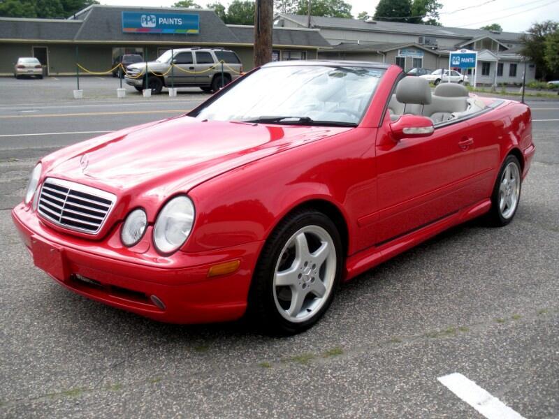 Mercedes-Benz CLK-Class CLK430 Cabriolet 2002
