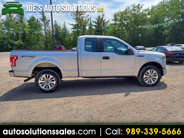 Ford F-150 XL SuperCab 8-ft. Bed 4WD 2016