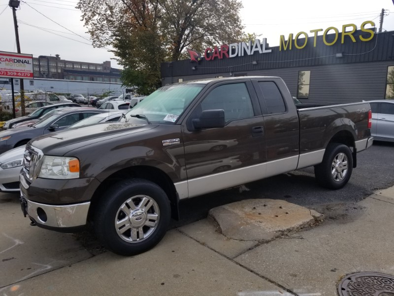 2008 Ford F-150 XL SuperCab 4WD