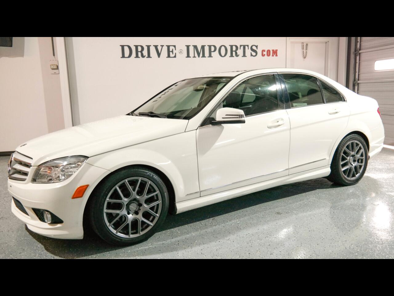 Mercedes-Benz C-Class C300 4MATIC Sport Sedan 2010