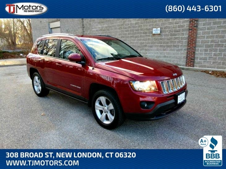 2017 Jeep Compass 4WD 4dr Latitude