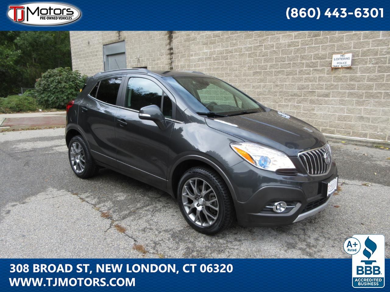 Buick Encore AWD 4dr Sport Touring 2016