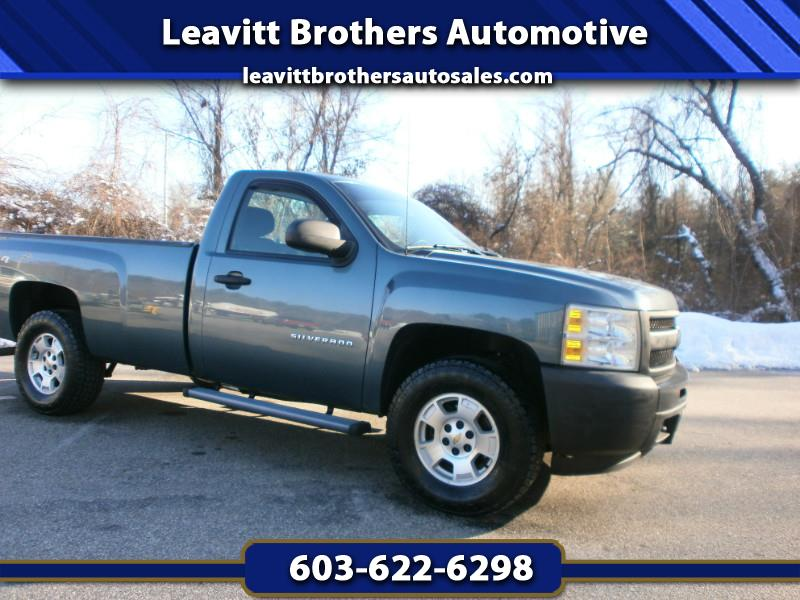 2011 Chevrolet Silverado 1500 LS Reg. Cab Long Bed 4WD