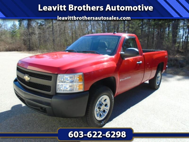2007 Chevrolet Silverado 1500 Work Truck Long Box 4WD