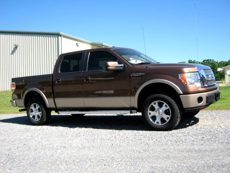 2012 Ford F-150 LARIAT SUPER-CREW 5.5 ft.BED 4x4