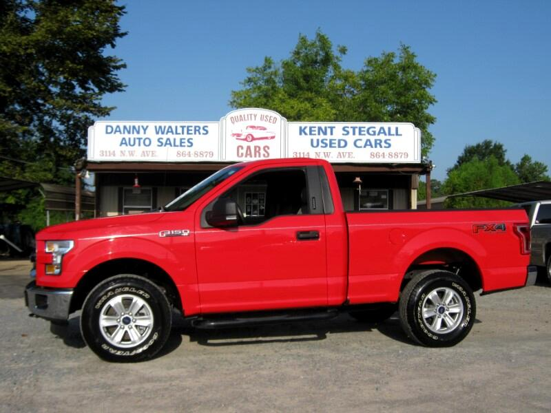 2016 Ford F-150 XLT Regular Cab 5.5 Bed