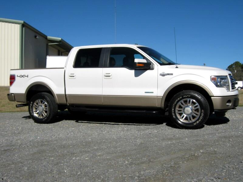 Ford F-150 King-Ranch SuperCrew 5.5-ft. Bed 4WD 2013