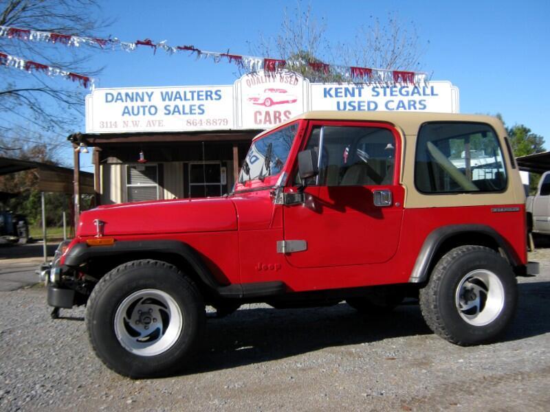 Jeep Wrangler Hard Top 1990
