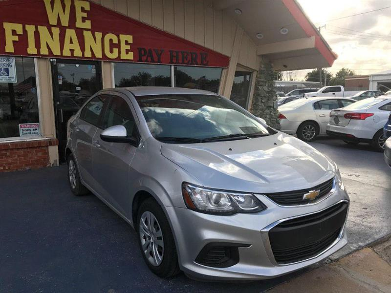 Chevrolet Sonic LS Manual Sedan 2017