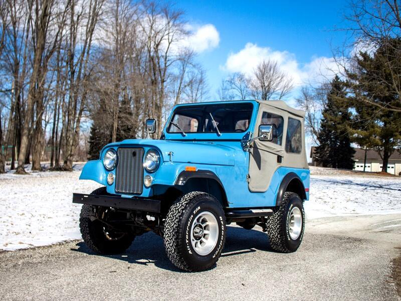 1980 Jeep CJ5 2DR SOFT TOP
