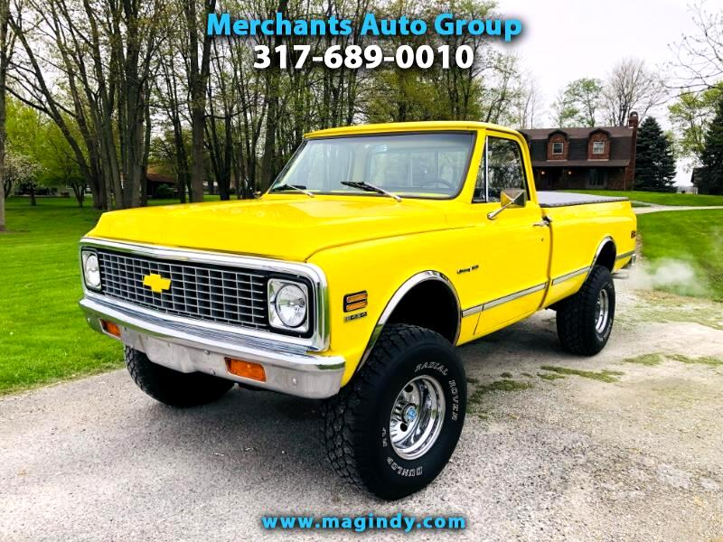 1971 Chevrolet Trucks C10 K10 Custom