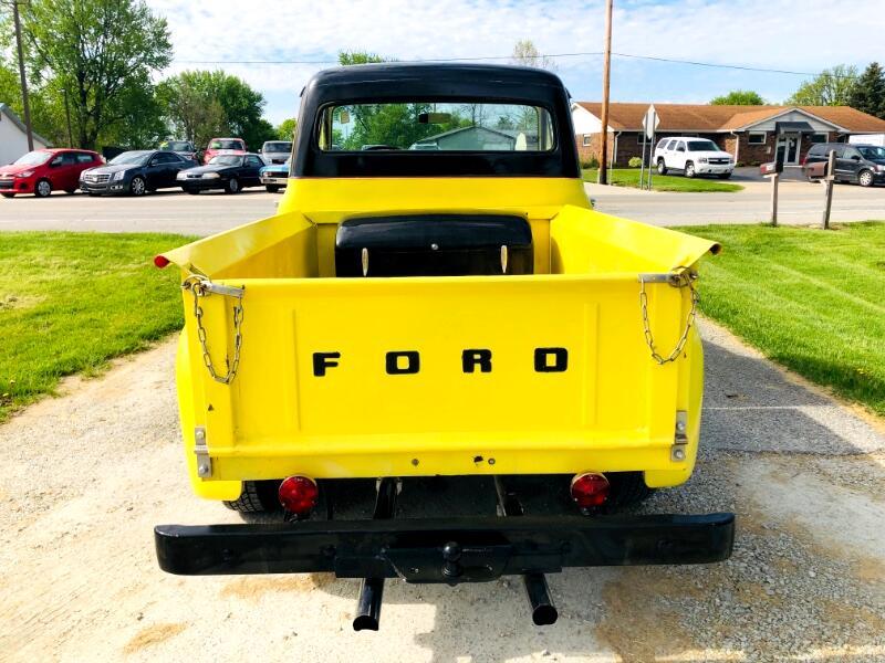 1955 Ford F-100 Flareside