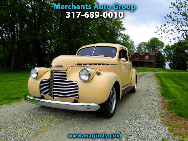 1940 Chevrolet Master Deluxe 2dr Coupe