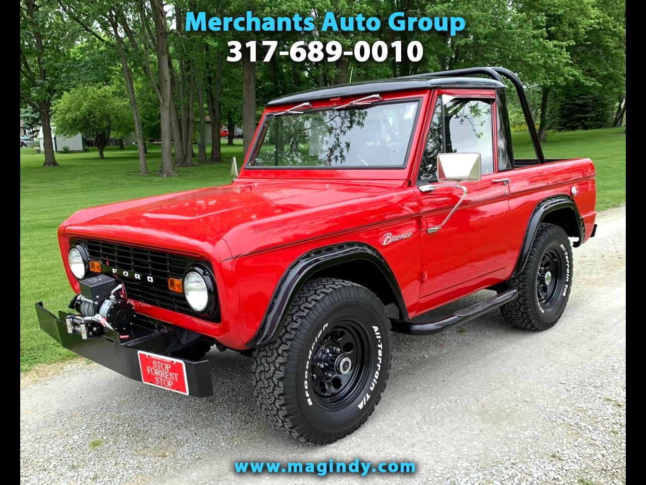 1966 Ford Bronco 4WD 2dr HalfCab U14