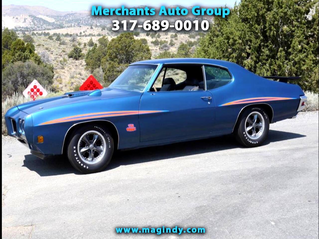 1970 Pontiac GTO 2dr Cpe