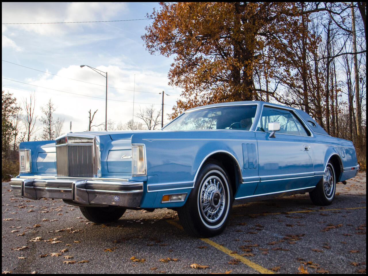 1979 Lincoln Continental 2dr Luxury Mark V