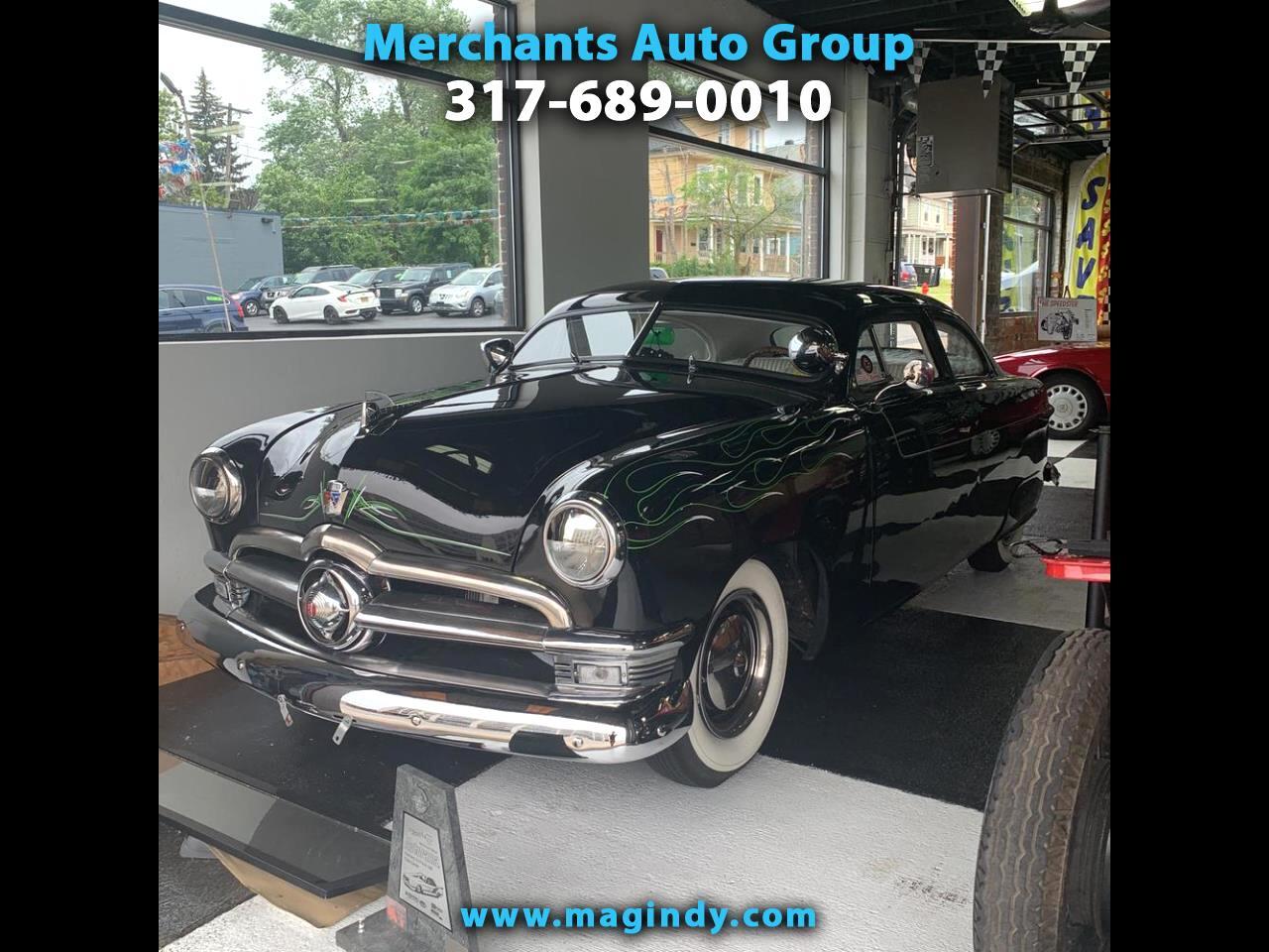1950 Ford Tudor Custom 2dr Coupe
