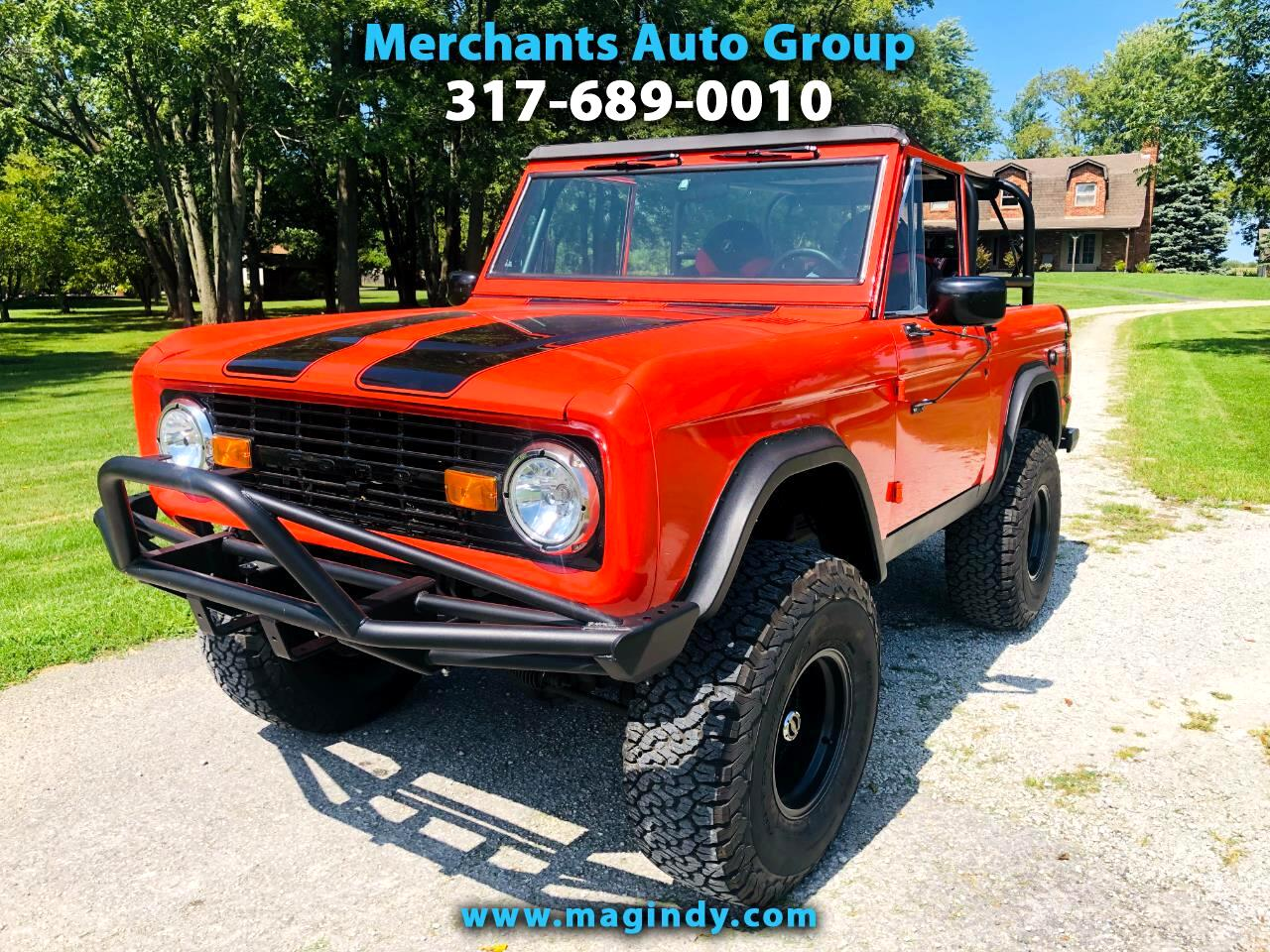 1972 Ford Bronco 4WD 2dr Soft Top