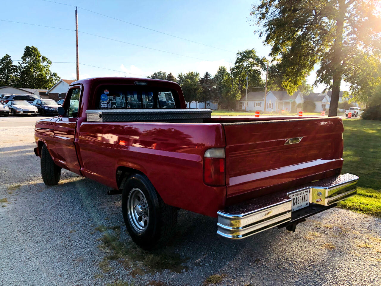 1971 Ford F-250 Styleside 2DR