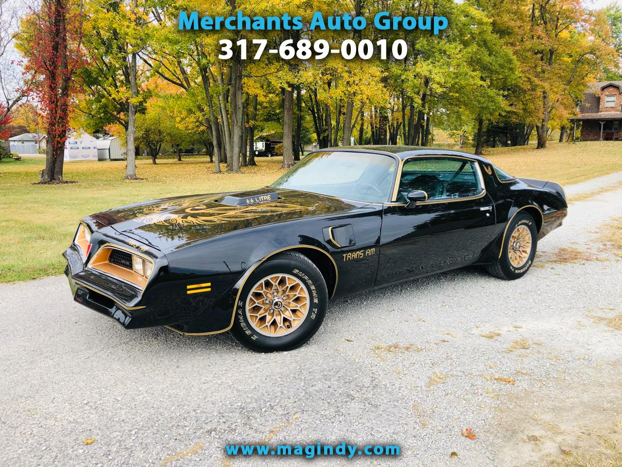 1977 Pontiac Trans Am Golden Eagle
