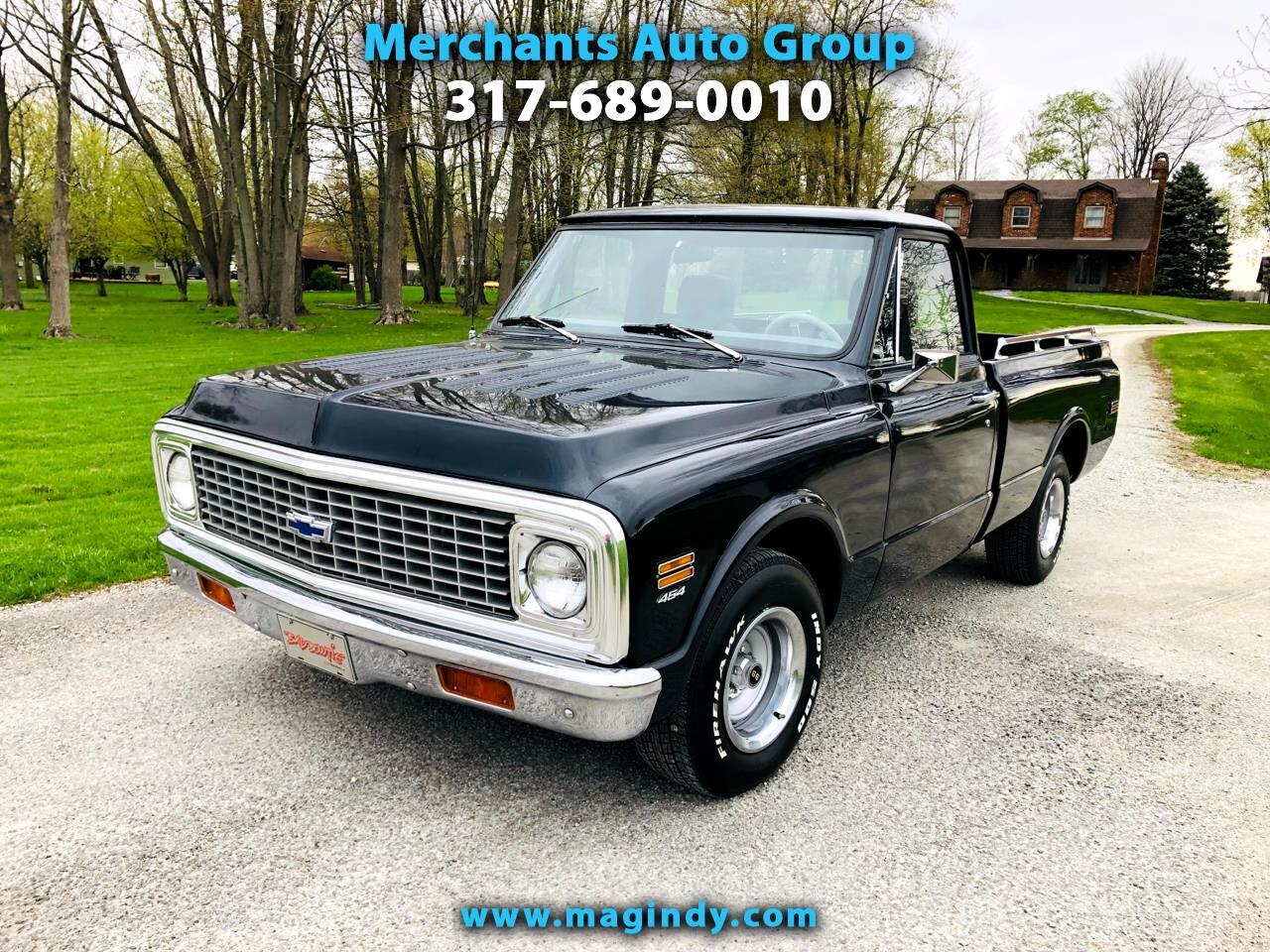 1971 Chevrolet C10 2dr Custom