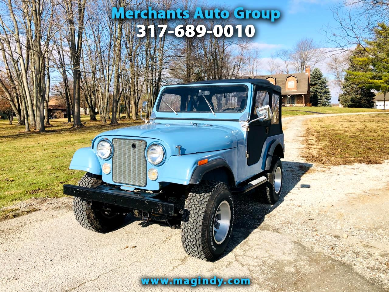 1980 Jeep CJ-5 2dr Soft Top 4WD