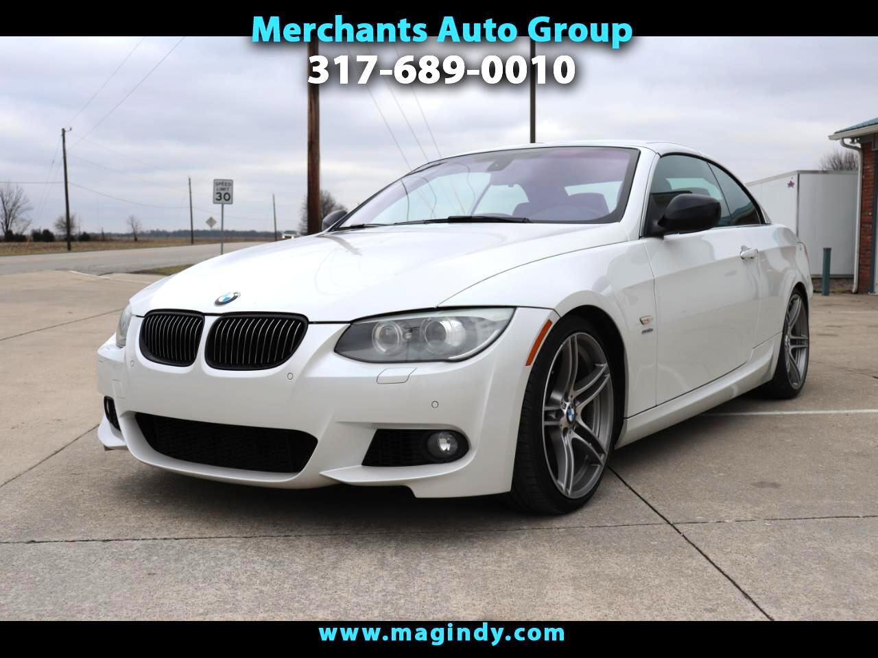 BMW 3-Series 335i Convertible - SULEV 2012