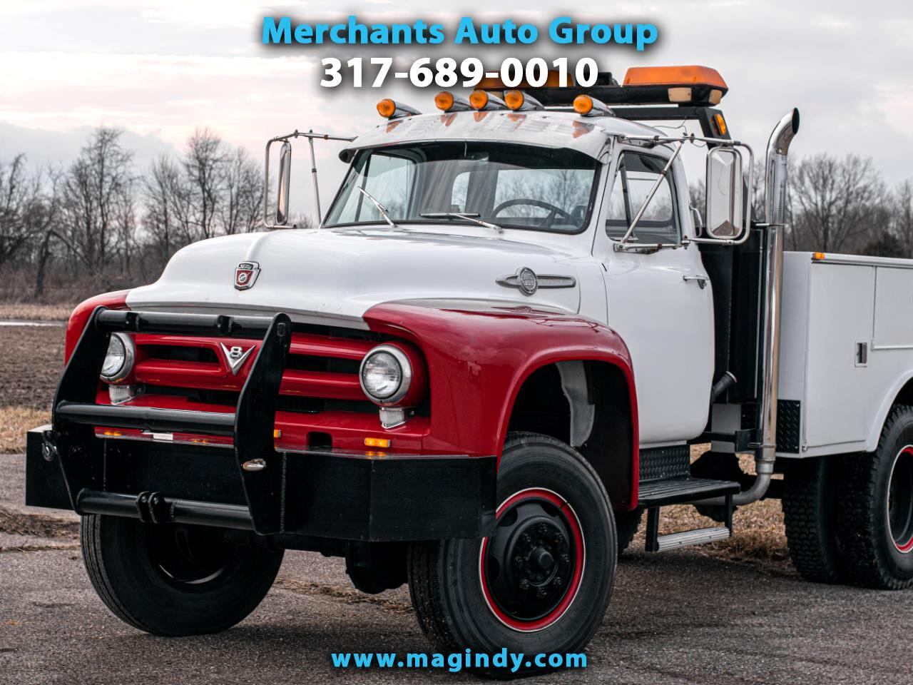 Ford F750  1953