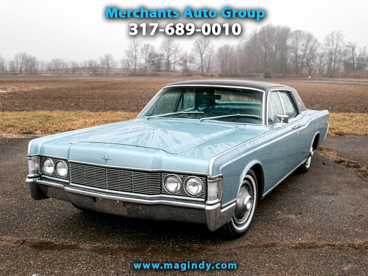 Lincoln Continental 4dr Sdn 1968