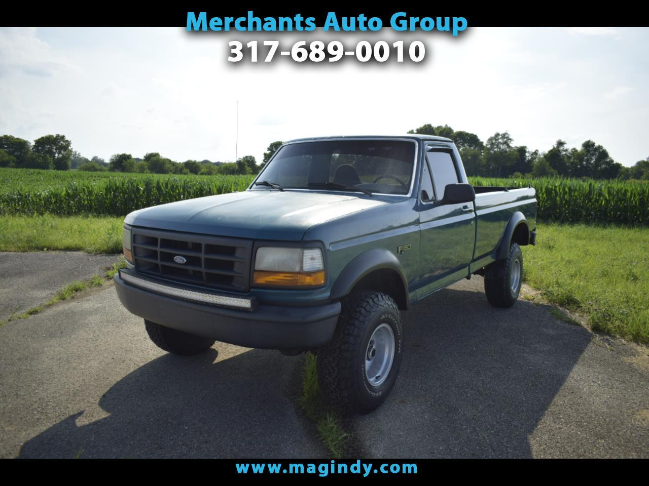 Ford F-150 Special Reg. Cab Short Bed 4WD 1996