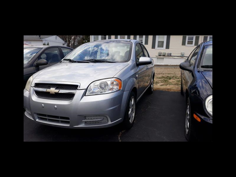 Chevrolet Aveo LT 4-Door 2007