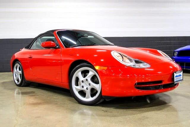 2000 Porsche 911 Carrera 4 AWD Convertible