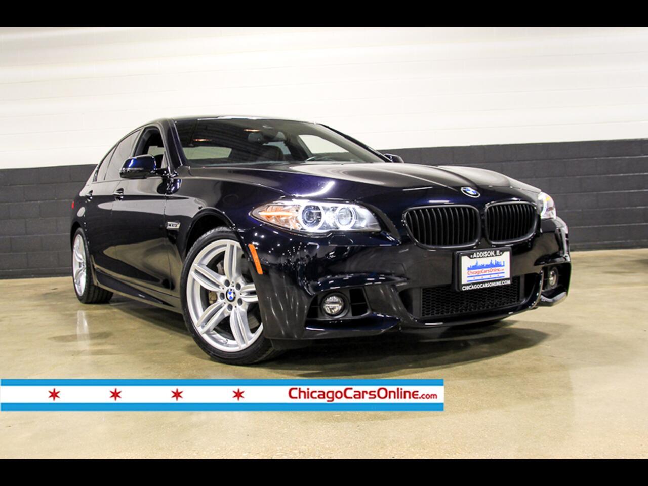 2016 BMW 5-Series 550i xDrive M-Sport