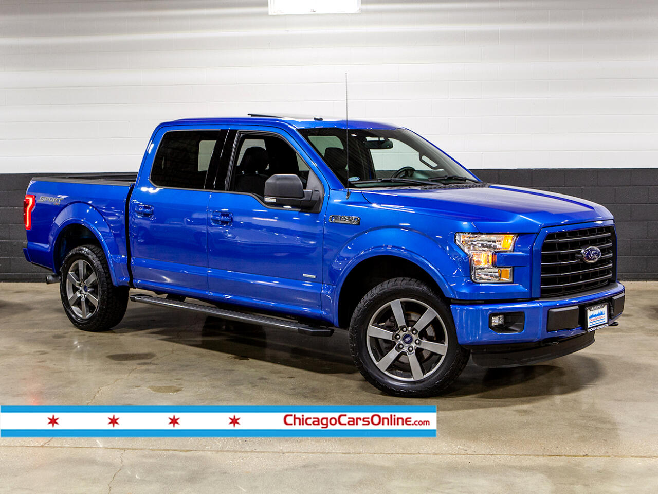 2016 Ford F-150 XLT SPORT SuperCrew Ecoboost