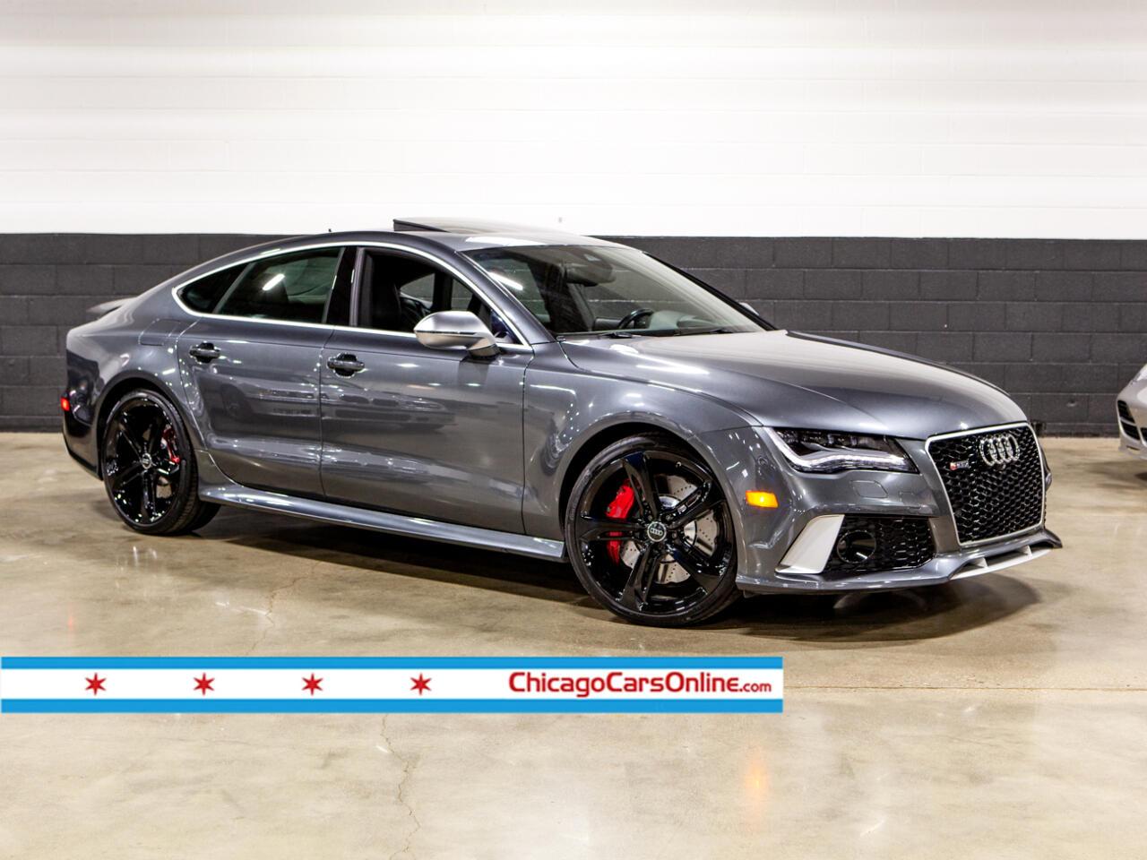 2014 Audi RS7 4.0T Dynamic Prestige Quattro Tiptronic
