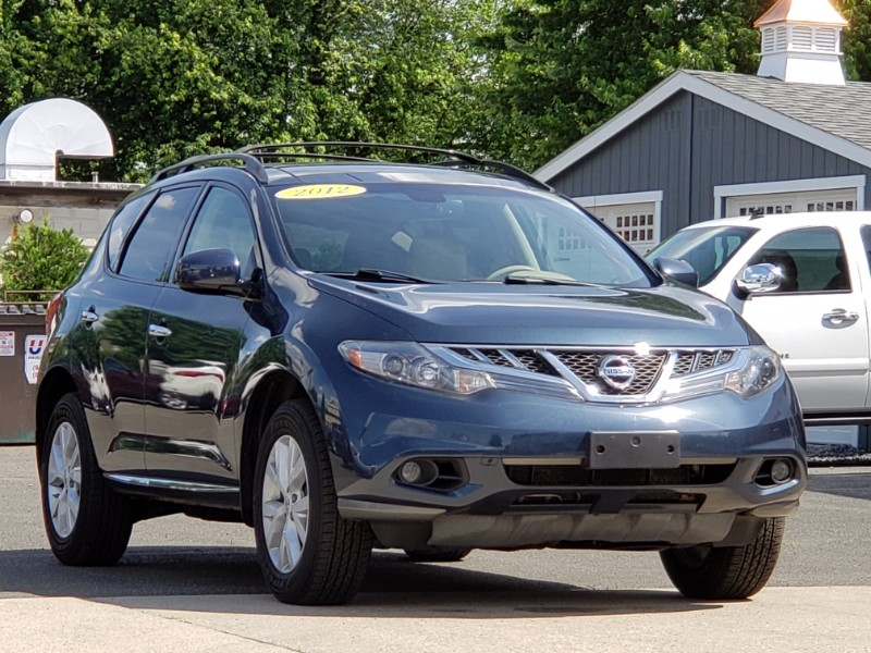 2012 Nissan Murano SL AWD Navigation, Sunroof, Leather