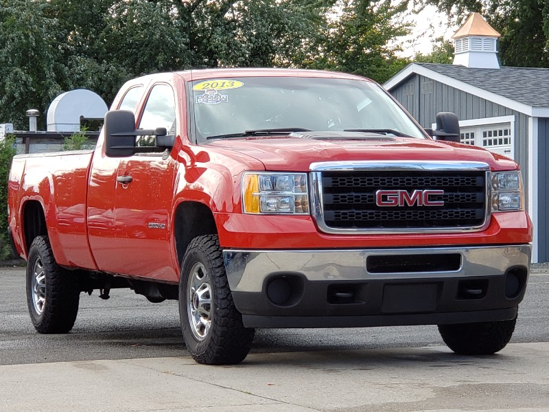 2013 GMC Sierra 2500HD Work Truck Ext. Cab 2WD